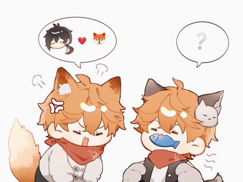 小狐狸觉得自己的地位受到了威胁