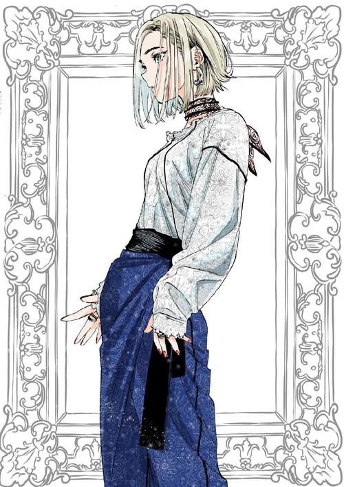 【绘画素材】少女动态姿势参考