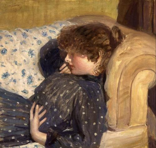 沙发上的女孩 By Phili...