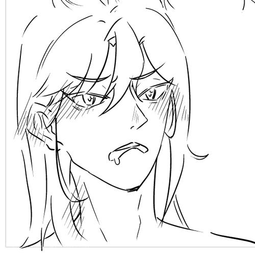 这个樱樱的表情是画得最喜欢的
